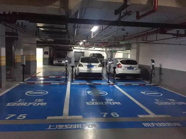 探访魔都7个最浪漫的电动汽车充电点