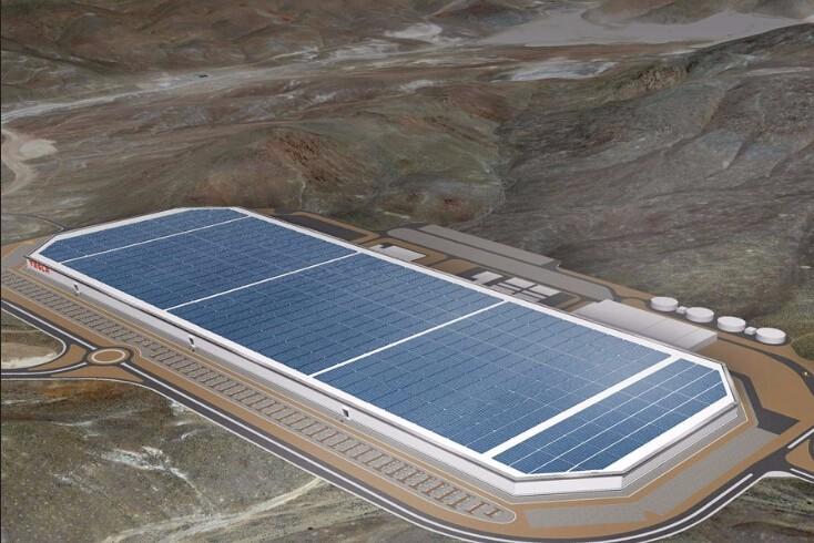 看特斯拉的电池工厂:占地超5000英亩(图)