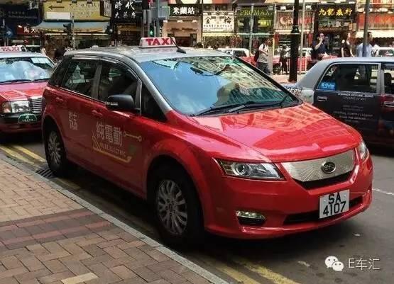 为何比亚迪e6在香港出租车界混不下去了?