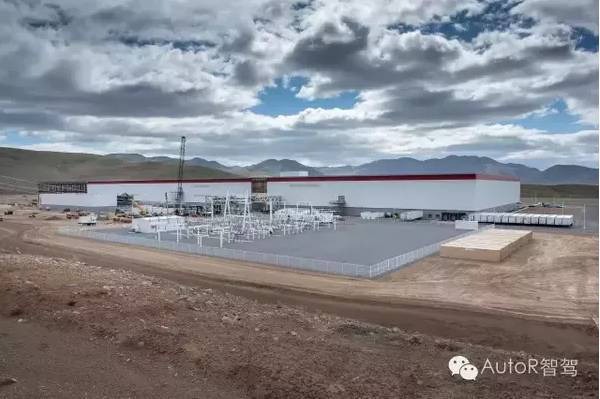 特斯拉电池工厂