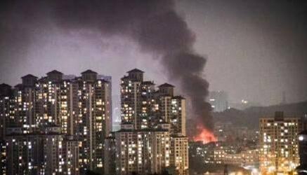 深圳坂田一工厂发生险情 纽扣锂电池放热起大火