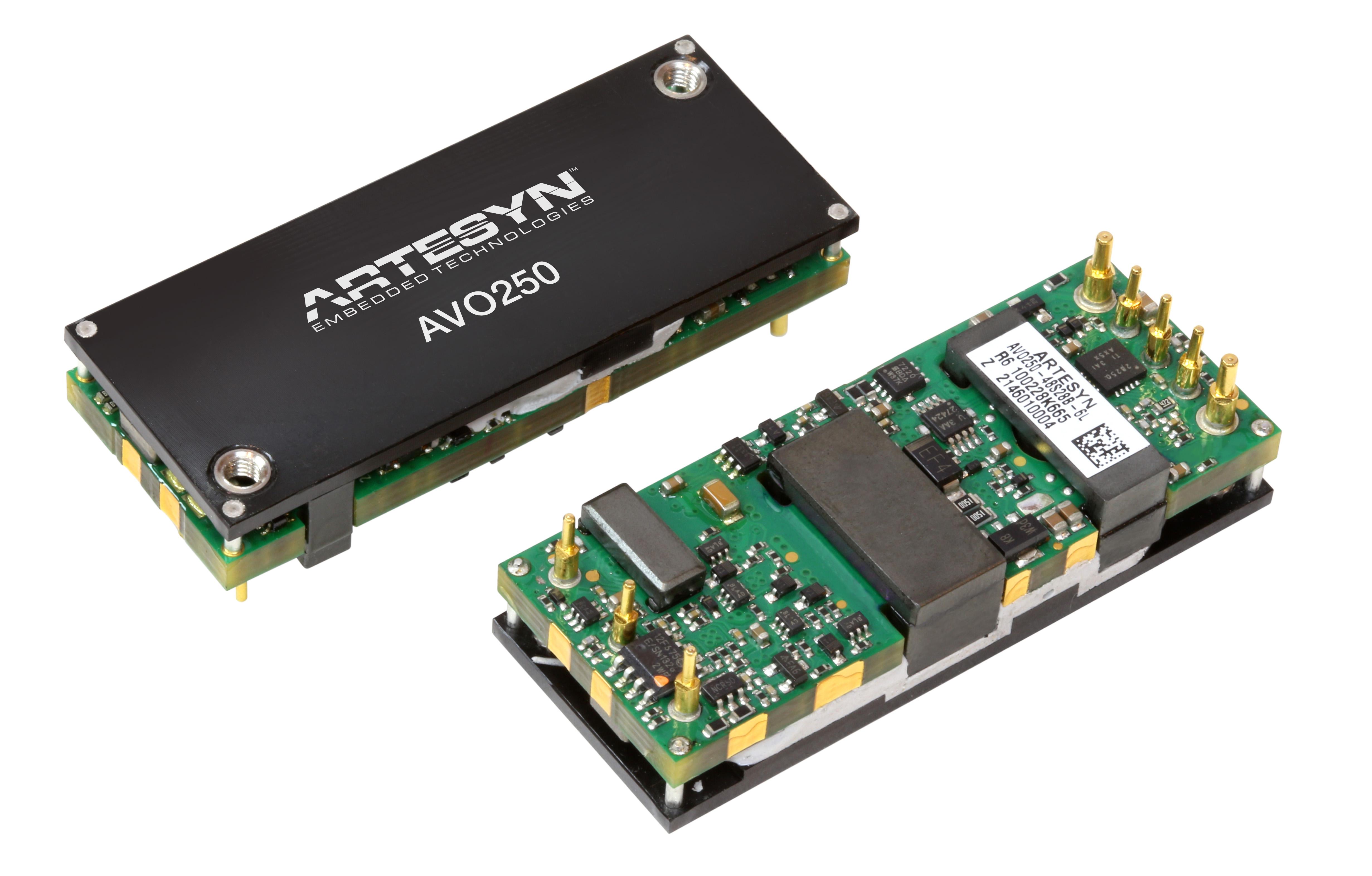 雅特生科技最新推出两大系列直流/直流电源转换器