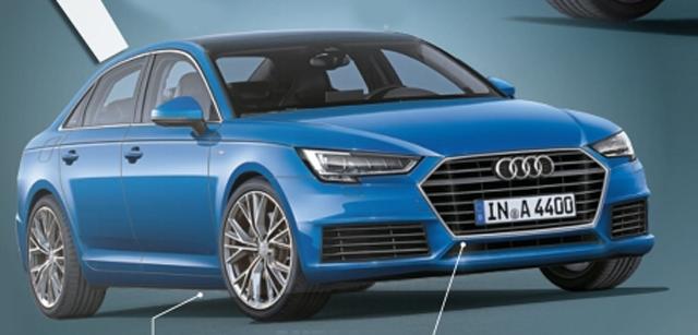 奥迪新一代A4于2月发布 首次引入插电混动车型