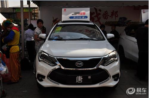 新能源汽车比亚迪唐 战番邦 丰田 保时捷都不是对手 图文高清图片