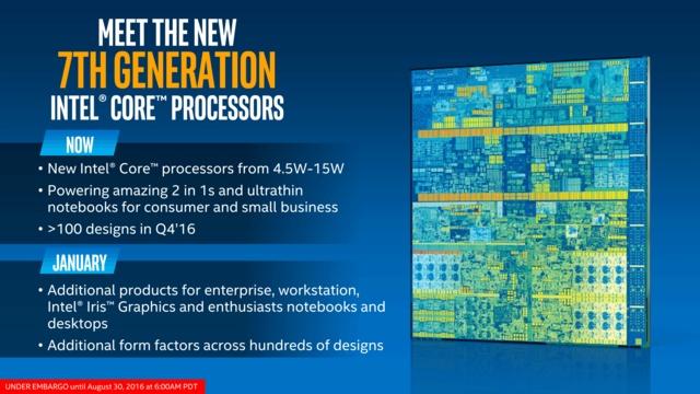 Intel第七代酷睿处理器Kaby Lake详松