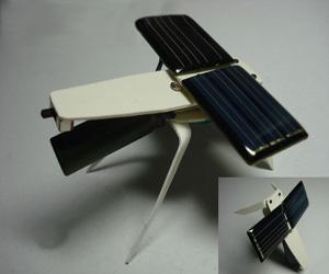 周精华/太阳能动力机器人