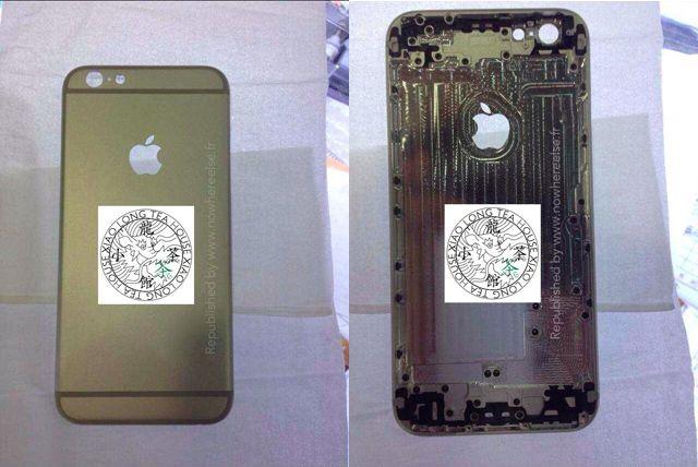 这是我手里维修后,拆下来的一个iPhone 5的金属背板,对比之后就一目了然了。   这个设计改变的初衷,应该是iPhone 6将这个镂空的开口作为天线位置的信号通道。因为iPhone 6改用整个金属后盖后,如何解决信号问题是个大难题。   不过在林志颖曝光iPhone 6时也提到,iPhone 6的天线改为粘覆在金属机身表面,即上下两个线圈。一般手机信号不仅包括通讯信号,还有GPS、蓝牙、WiFi等等,所以这里可能作为蓝牙、GPS或WiFi信号通道。   从2010年的iPhone 4开始,iPh