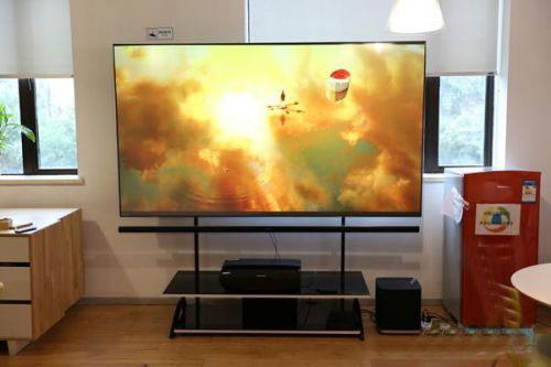 12万元100寸激光电视评测 效果不如液晶电视