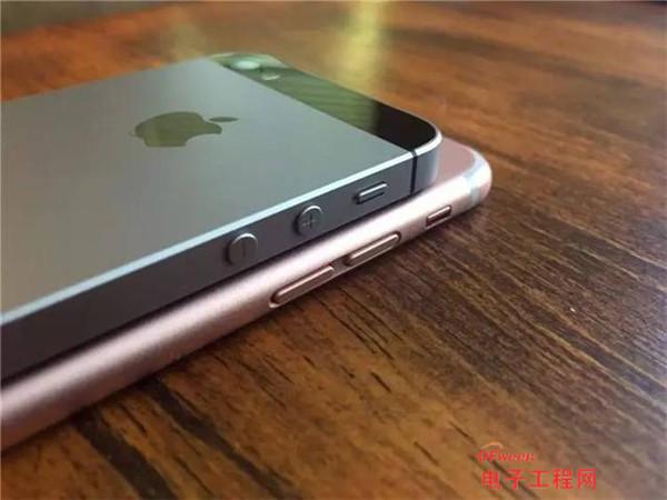 而且与se对比iphone7的边框设计更加的合理,音量键的处理