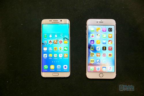 GalaxyS6 edge+对比iPhone6S Plus评测 小米5等年终奖?