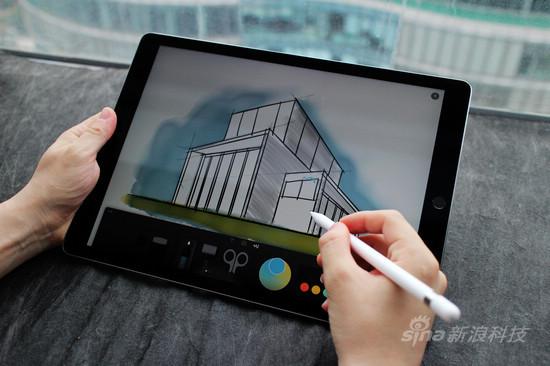 ipad pro室内设计手绘