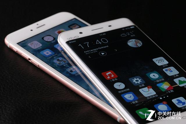 vivo Xplay5对比iPhone6s Plus评测 双曲面大运存能对杀苹果?