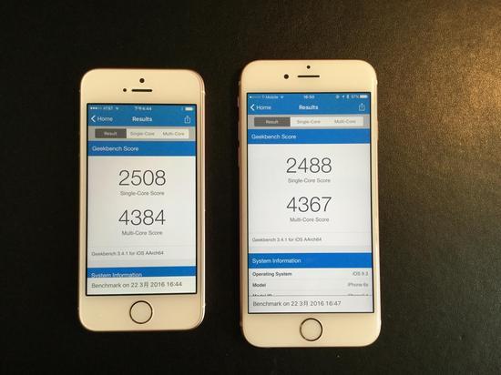 iPhone SE对比iPhone6s评测 国行版开箱图赏是否心动?