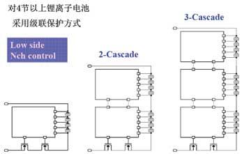 多节锂离子电池的级联