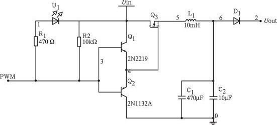图3 BUCK 变换器电路