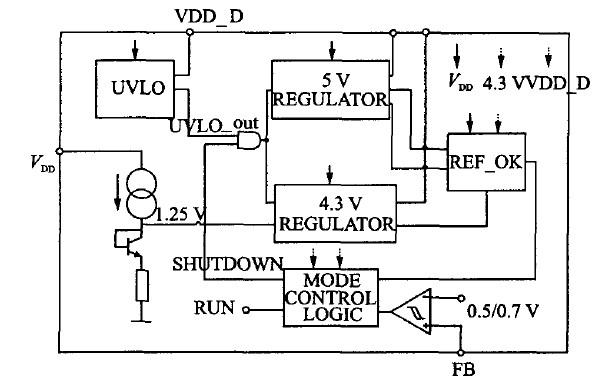 图1电源系统框图
