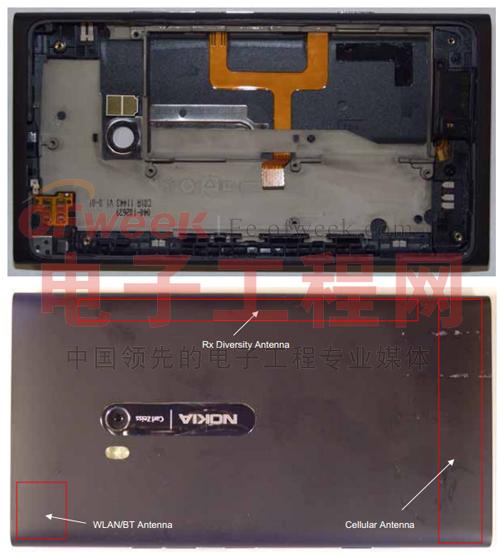 诺基亚Lumia 900拆解