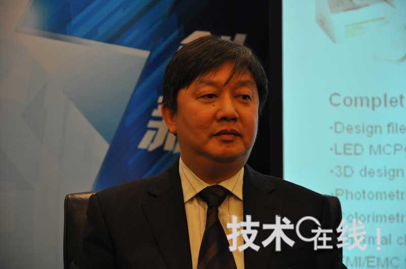 ADI中国区技术业务经理张松钢