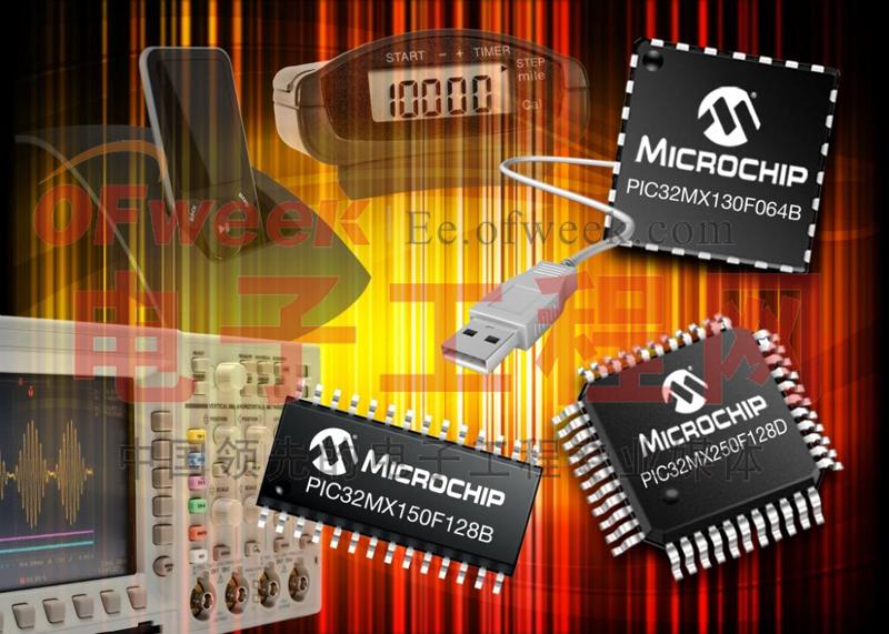 PIC MX1和MX2 MCU