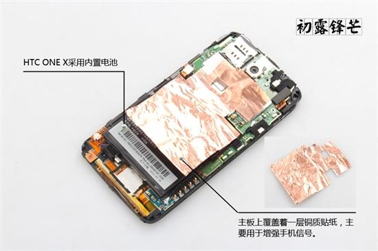 四核处理器露给你看 HTC One X详细拆解