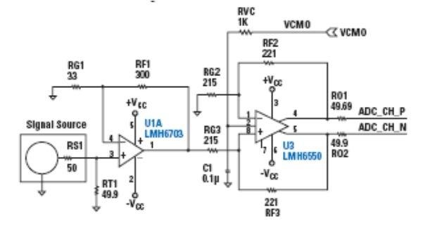 二级放大电器电路图