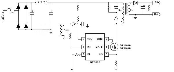 交流输入光耦电路图