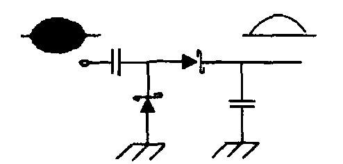 该正相信号近似于直流信号),此正相信号转入电路中的电压比较器,引起