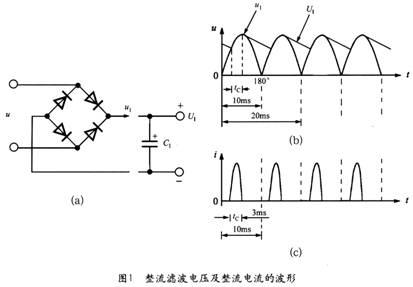 整流滤波电路和钳位保护电路的设计