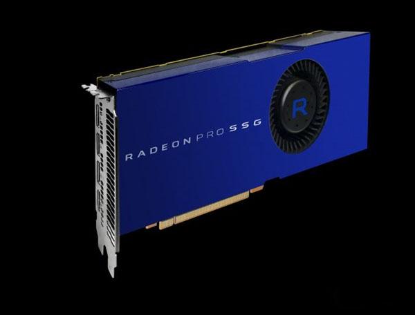 显卡内置SSD!AMD发布Radeon Pro Solid State专业卡