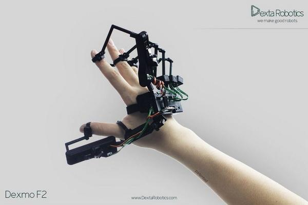黑科技:这种蜈蚣般的机械手可以实现虚拟现实操作