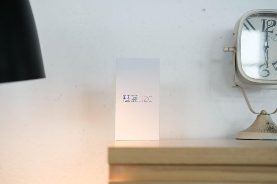 魅蓝 U20开箱体验:不一样的双玻璃机身+一样的Flyme体验