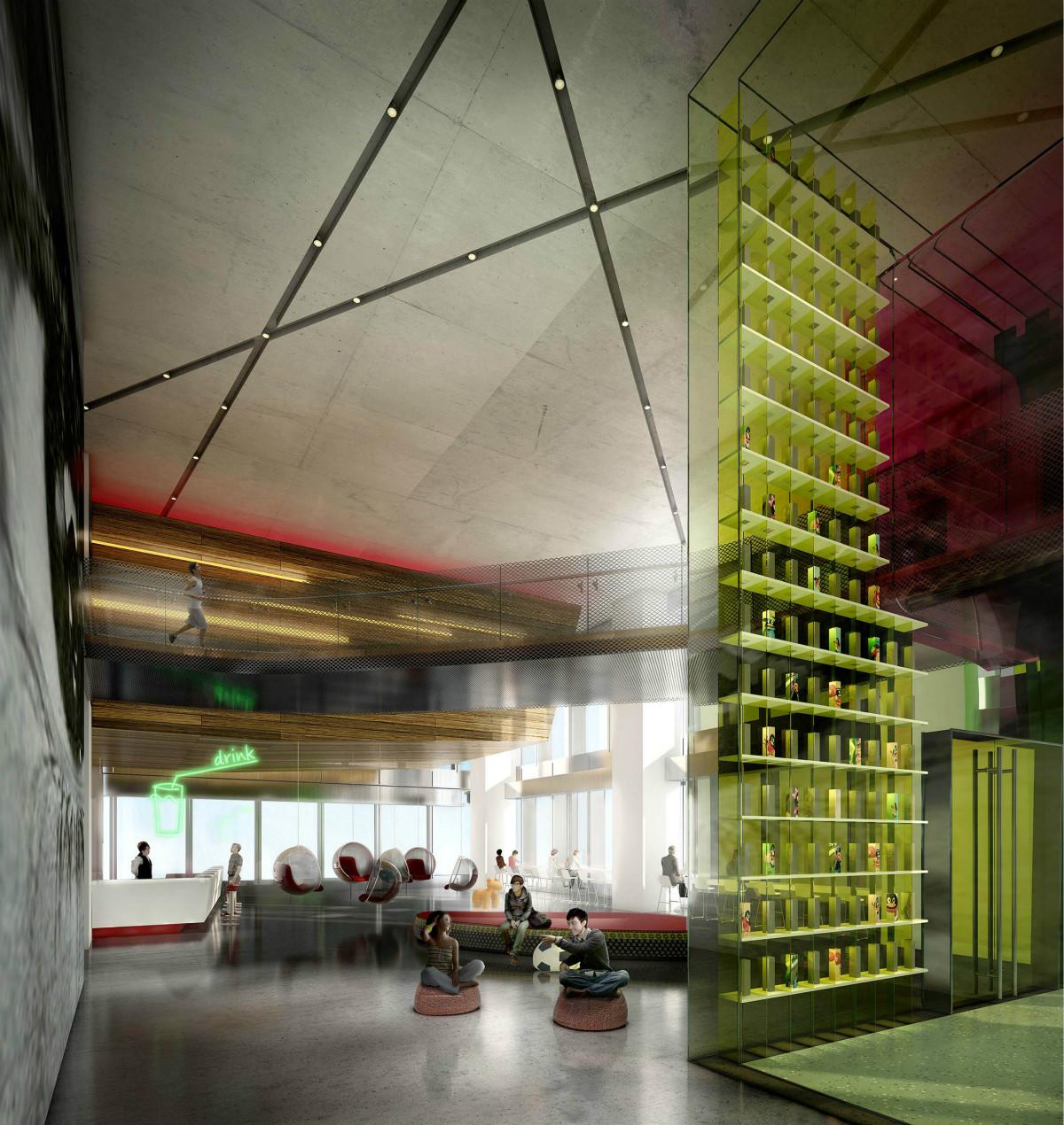 腾讯新总部探秘:一座大型物联网实验室