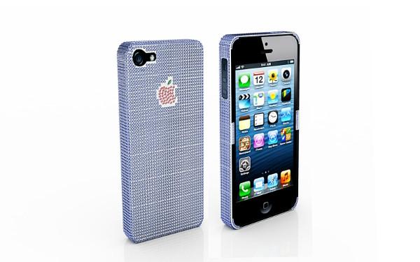 10万美元镶钻iPhone5手机壳图1
