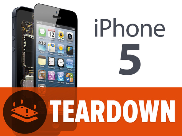 iPhone 5完全拆解图1