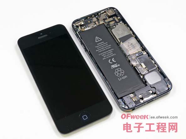 苹果5手机拆卸电池步骤图解