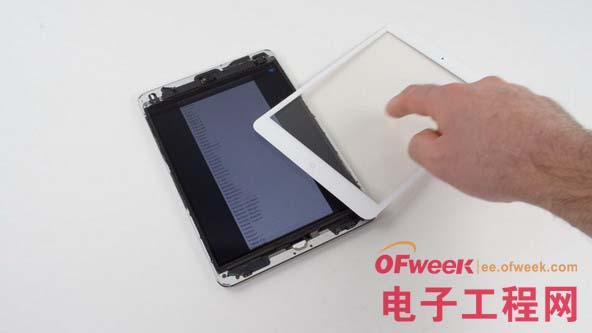 苹果平板拆机图解