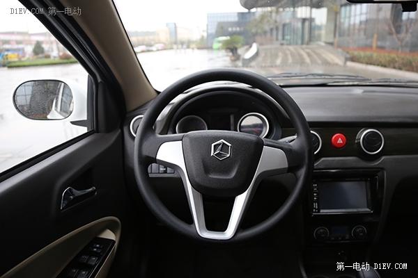 正的自主研发 雷丁V60三厢微型电动车评测高清图片