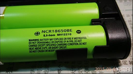 16000mah松下电池版小米移动电源拆解