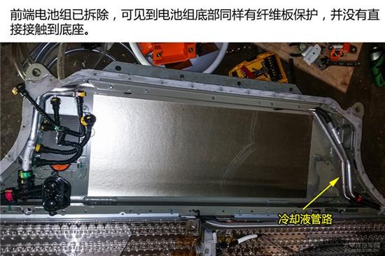特斯拉Model S电池板拆解 探秘电动车最核心电池技术 多图