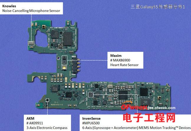 """s5芯片揭秘:""""十大传感器""""拆解分析(多图)图片"""