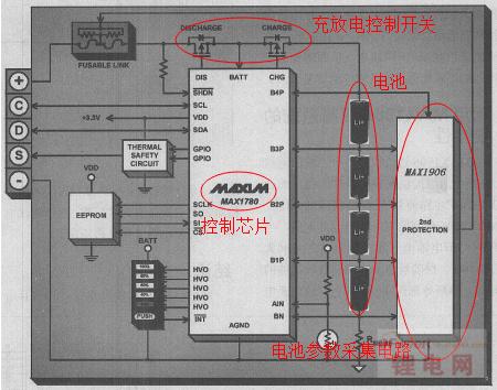 笔记本电池保护电路的作用分析