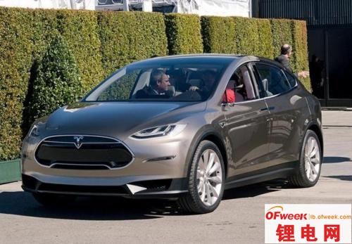 特斯拉SUV车型Model X国内开始预订
