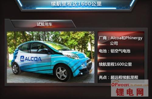 石墨烯/铝空气 盘点5大新型电动汽车电池技术