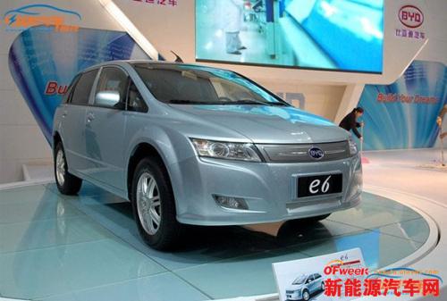 2014国产电动汽车排名Top 10:比亚迪霸气