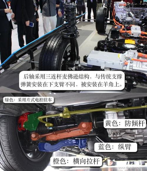 图解比亚迪唐动力电池系统