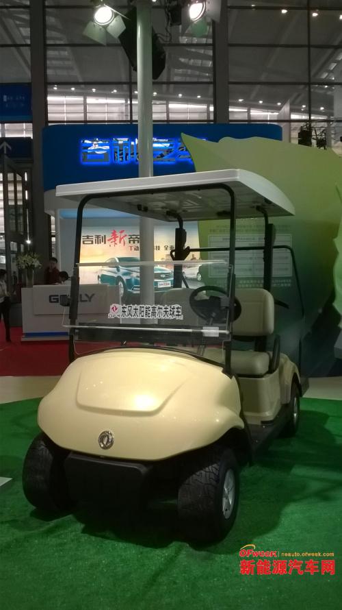 高交会直击新能源车展:比亚迪特斯拉抢眼(图)