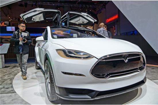 CES引爆科技高潮:特斯拉Model X领衔五大炫目电动汽车