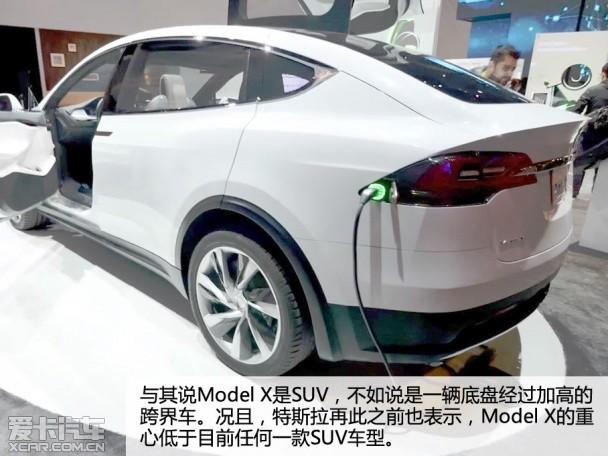 CES缔造未来趋势:特斯拉SUV Model X携众电动车酷炫登场!!【附图】