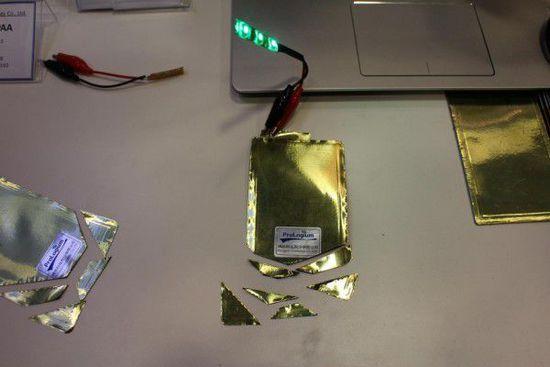 防止爆炸:新型软性锂电池材料现世!