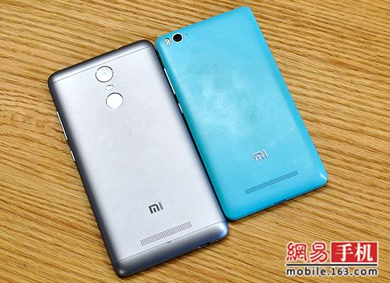 红米Note3全网通对比小米4c:新兵掀翻老将?